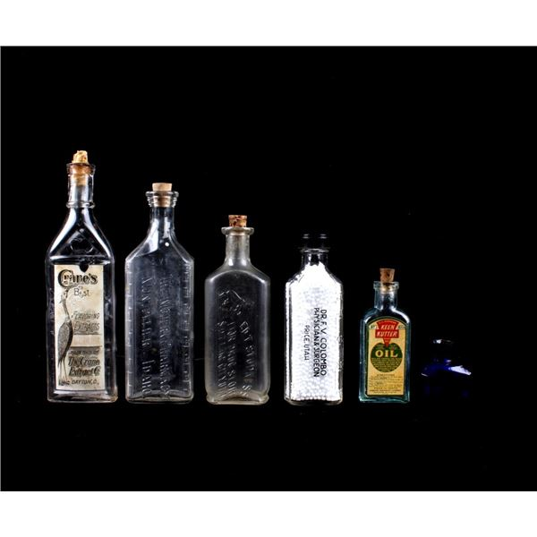 Drug Store & Surgeon Pharmaceutical Bottles