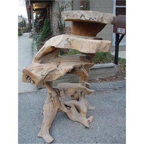 Peachy Art Teak Tree Root Primitive Garden Bench Table2152386 Gmtry Best Dining Table And Chair Ideas Images Gmtryco