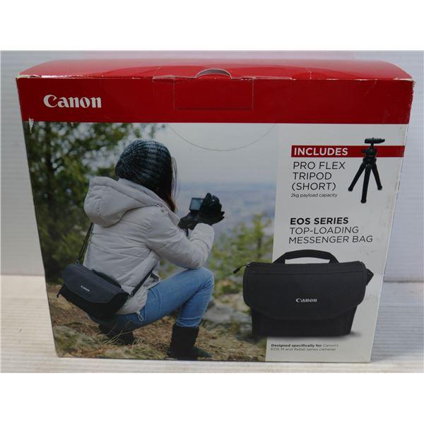 CANON TOP LOADING MESSENGER BAG INCLUDES PRO FLEX