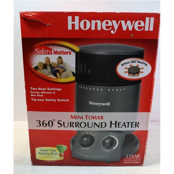 HONEYWELL MINI TOWER 360 DEGREE SURROUND HEATER