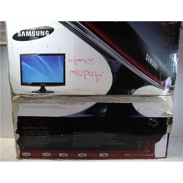 SAMSUNG 24 INCH LCD MONITOR