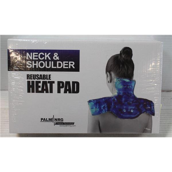 PALM NRG NECK & SHOULDER REUSABLE HEAT PAD