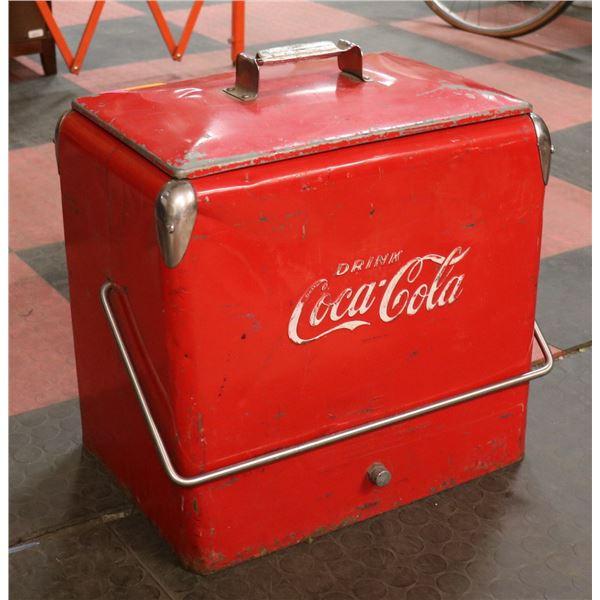 1940S COCA COLA PICNIC COOLER