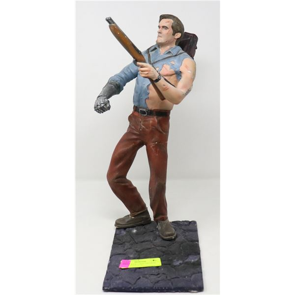 ARTIST MADE LARGE ASH FROM EVIL DEAD STATUE
