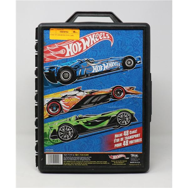 CASE OF ASSORTED TOY CARS