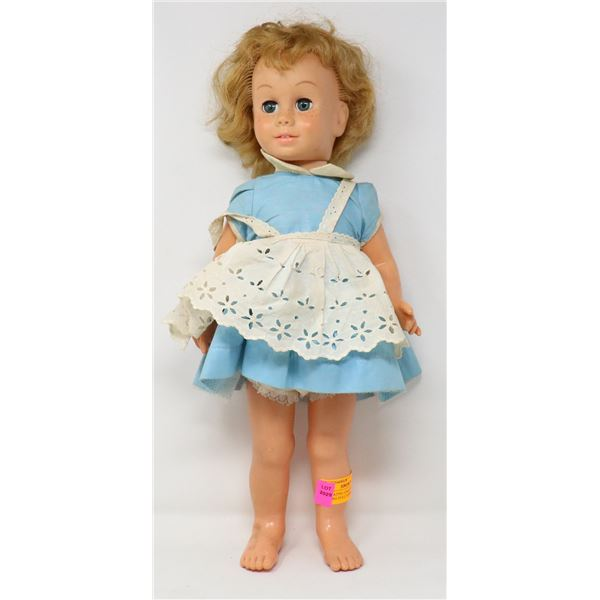 1960S MATTEL CHATTY CATHY WORKING PULL STRING