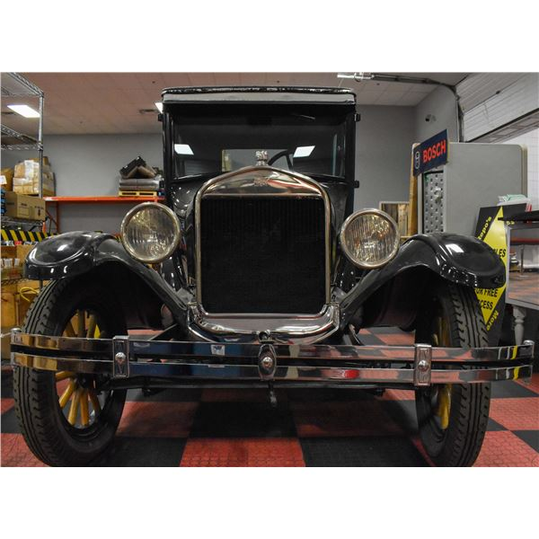 FEATURE LOT :1926 FORD MODEL T 2 DOOR COUPE