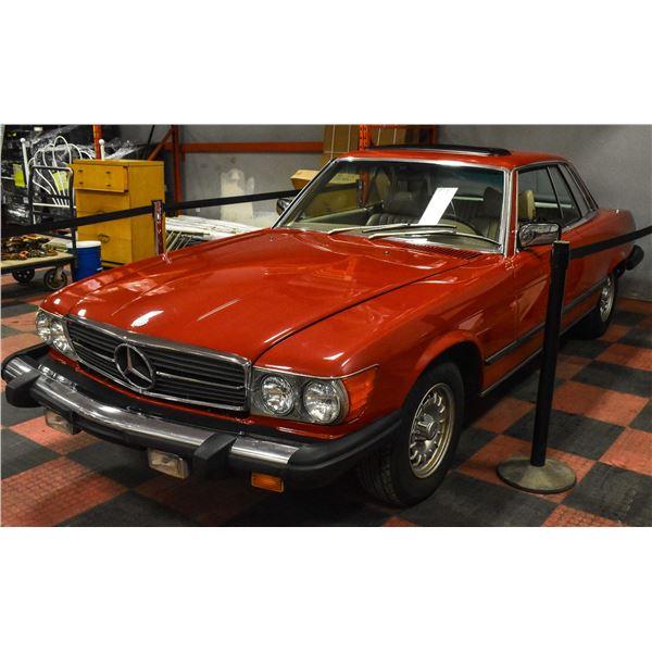 FEATURE LOT: 1977 MERCEDES 450 SLC