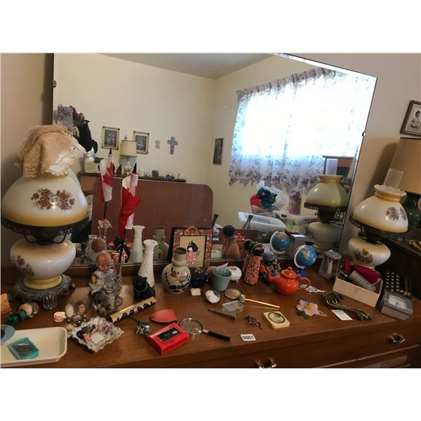 Assorted Home Decor, lamps  & Vases Etc