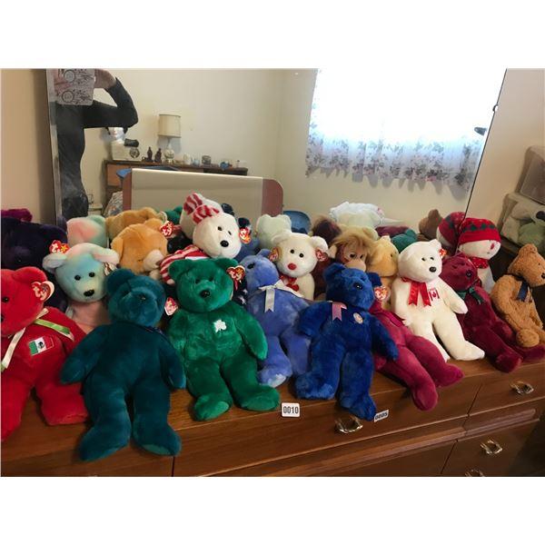 Various Beanie Babies