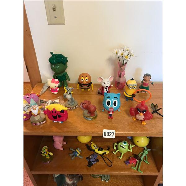 Assorted Toys including Disney