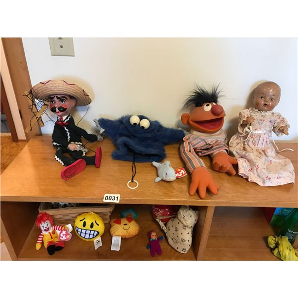 Puppets, Marionette, Vintage Dolls & Ty Baby Ronald McDonald