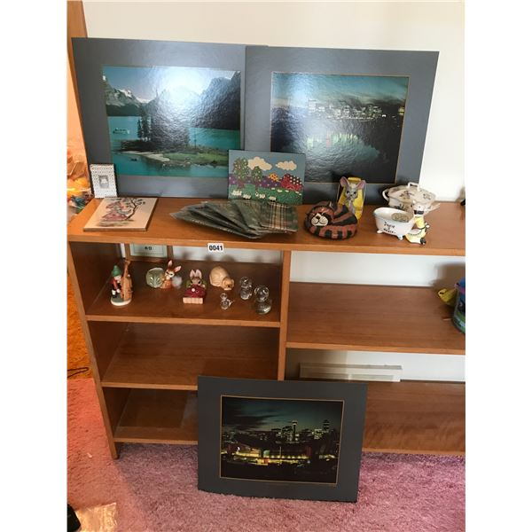 Various Home Decor, Pictures, Figurines & Trays