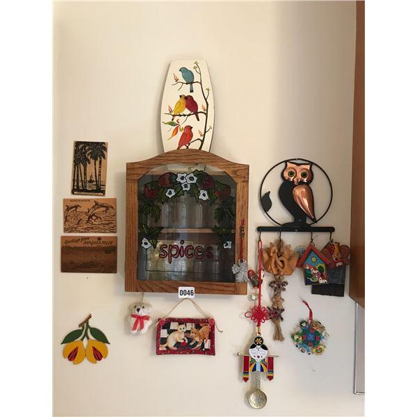 Home & Wall Decor & Spice Rack