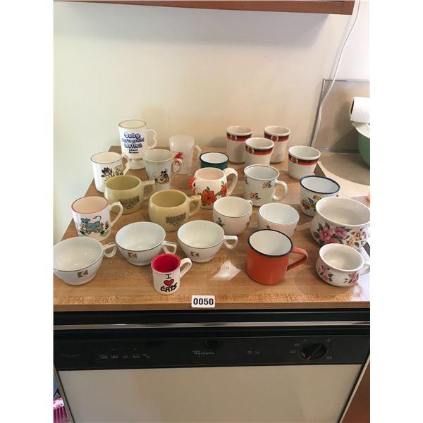Assorted Vintage Mugs & China