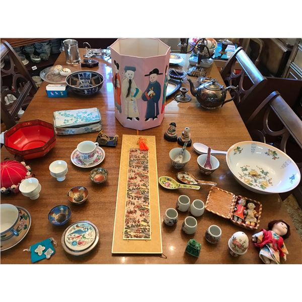 Far East Decor & Dishes