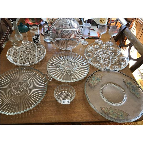 Various Crystal & Glassware