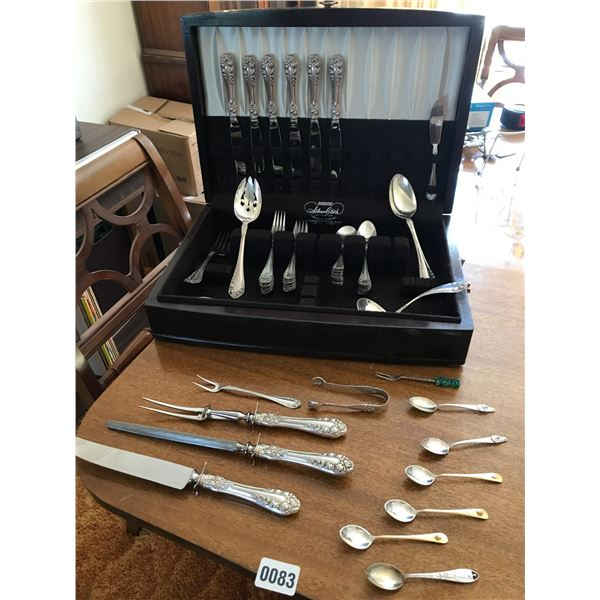 Large Collection of Sterling Silver Cutlery