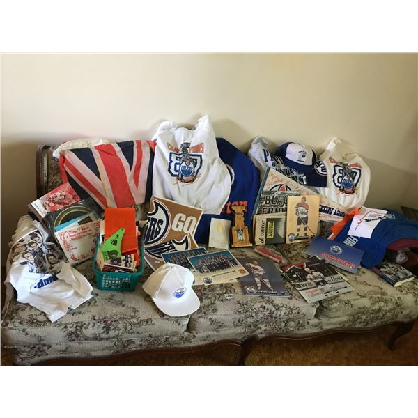 Large Assorted Edmonton Oiler's Collection
