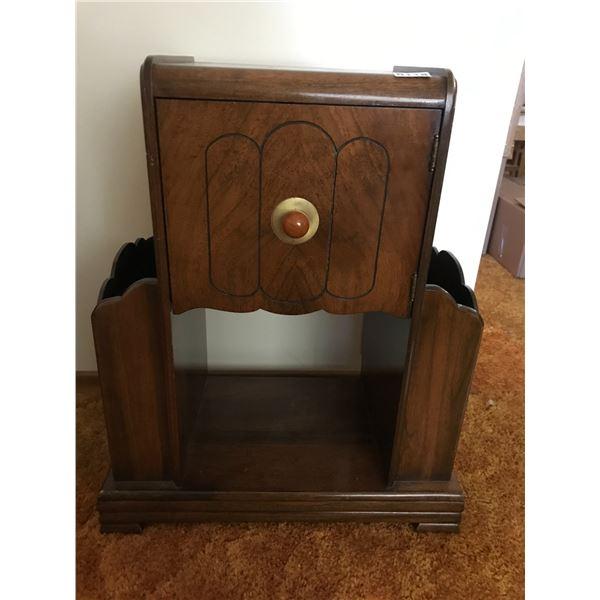 Vintage Magazine Cabinet