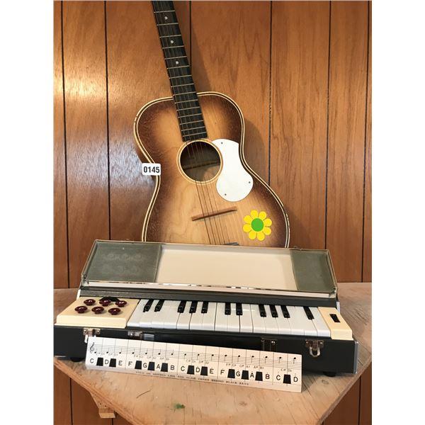 Silvertone D68HK Guitar