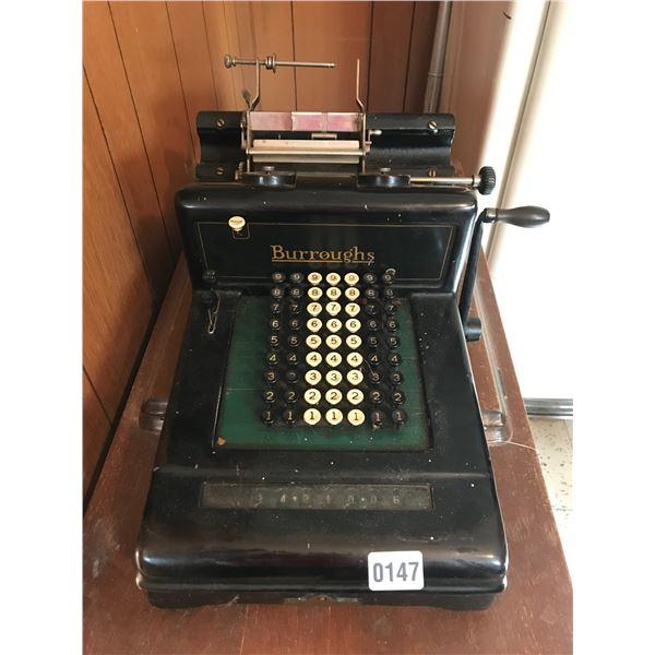 Burroughs C3 781005 Calculator