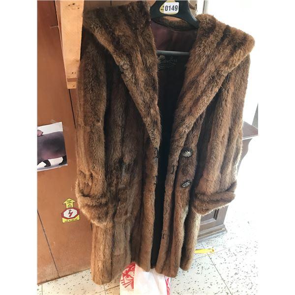 Western Furs Vintage Mink Coat