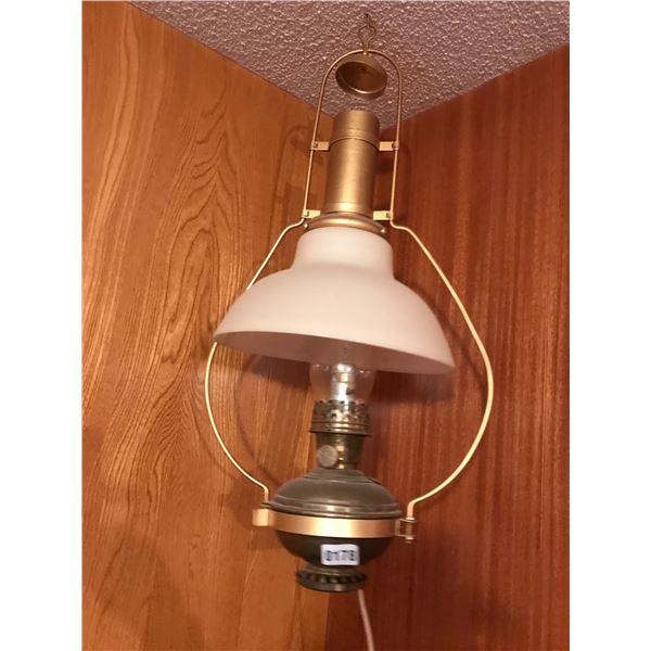 Large Hanging Oil Lantern