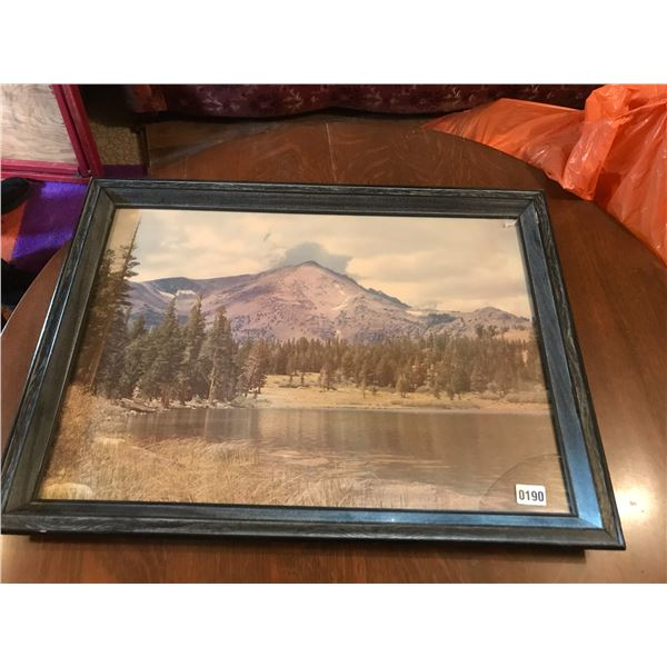 Large Mountain Picture