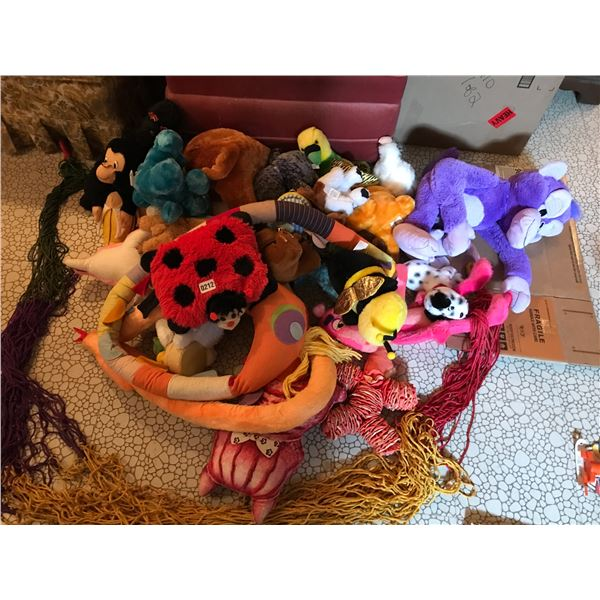 Huge Collection of Stuffed Animals