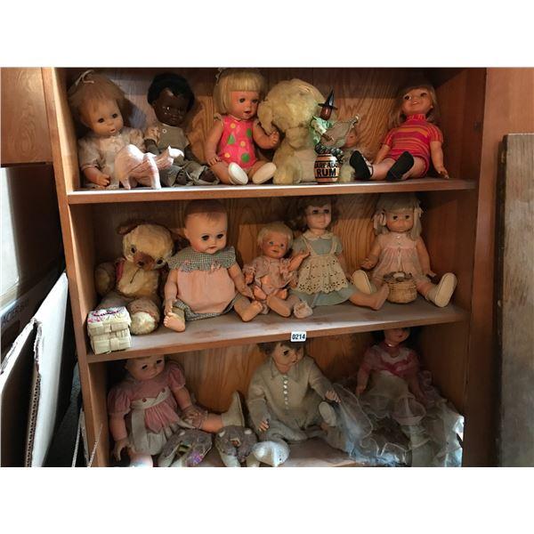 Vintage Dolls and Stuffed Animals