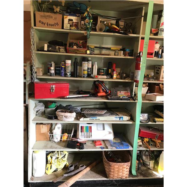 Tool Box/Tools, Pick Axe, Garage Items