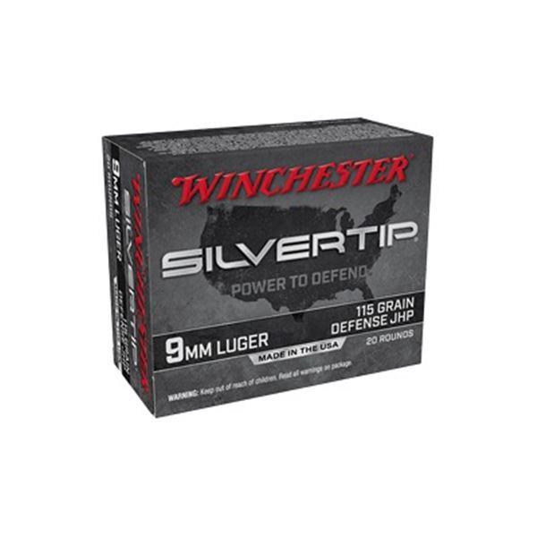 WIN SILVERTIP 9MM 115GR HP - 20 Rds