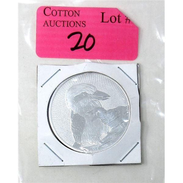 2 Oz. .9999 Fine Silver 2020 Perth Mint Coin