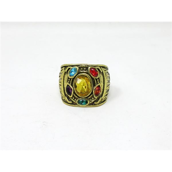 New Marvel Infinity Ring - 20 mm Wide - Size 12