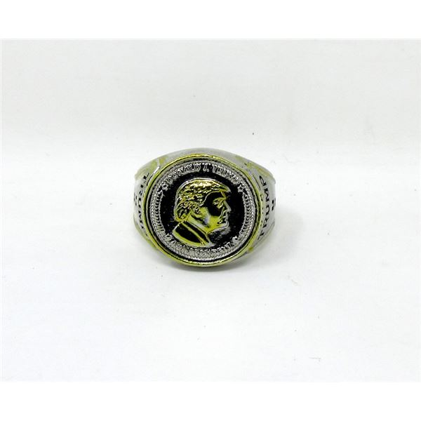 New President Donald Trump Ring - Size 12