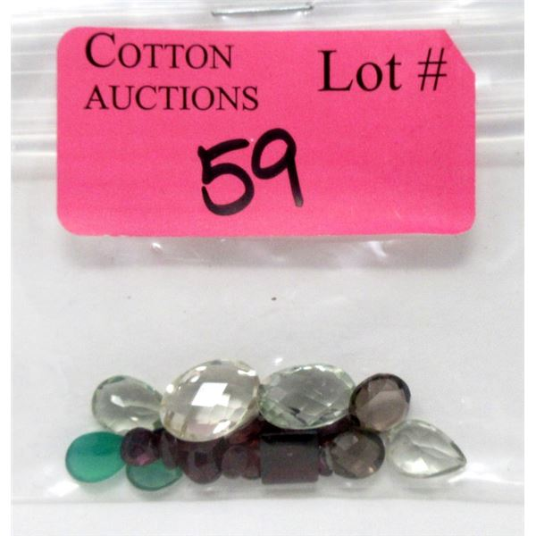 26 CTW of Mixed Faceted Gemstones