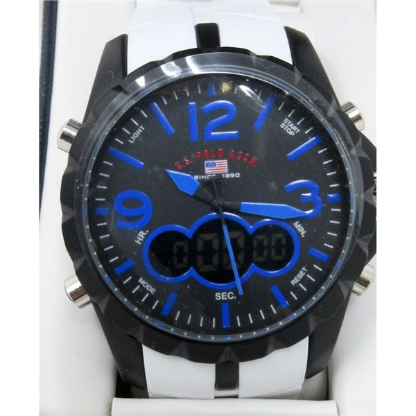 Men's New US Polo Association Chronograph Watch
