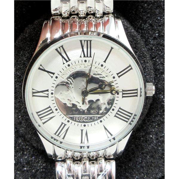 Men's New August Steiner Coin Watch
