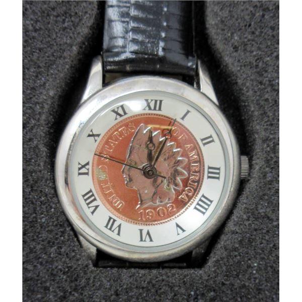 Ladies New August Steiner Coin Watch
