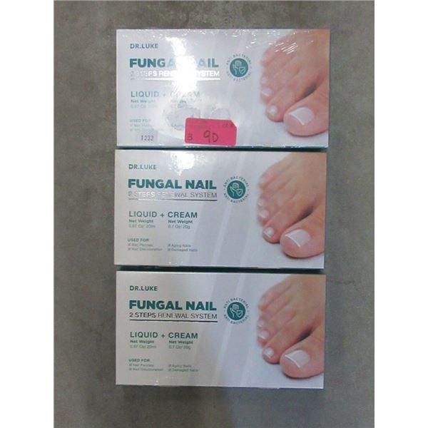 3 Dr. Luke Toe Nail Fungus Treatment Sets