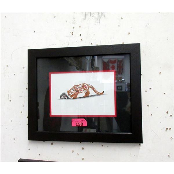 Richard Shorty Framed Print - Hmmmm
