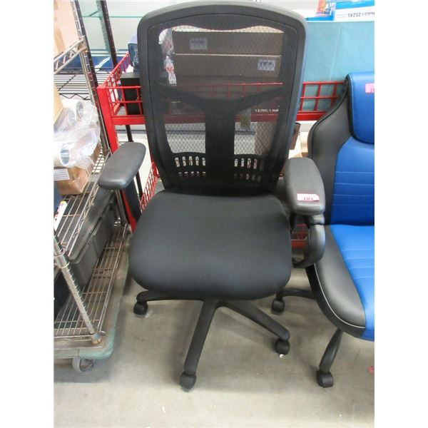 Office Chair with High Mesh Back