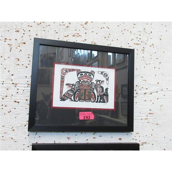 Richard Shorty Framed Print - Copper Frog Design