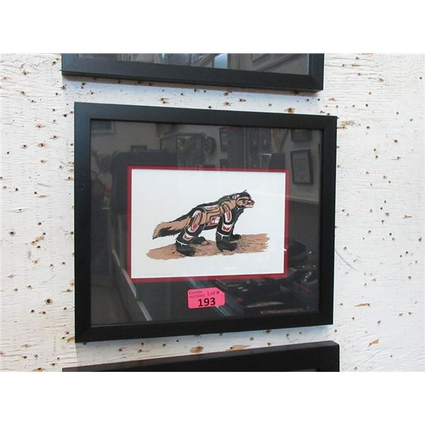Richard Shorty Framed Print - Wolverine