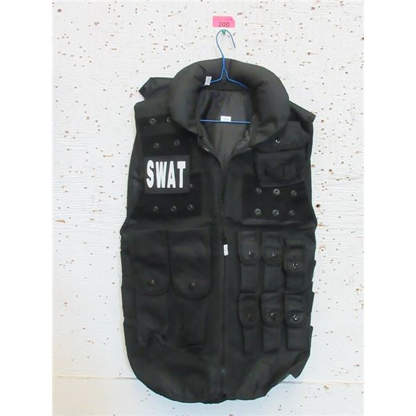 New Tactical Jacket with SWAT Patch