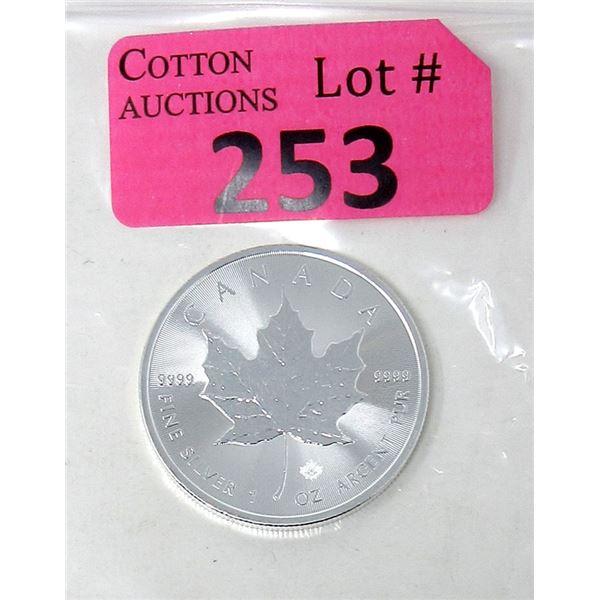 1 Oz. 2021 Canada .9999 Silver Maple Leaf Coin