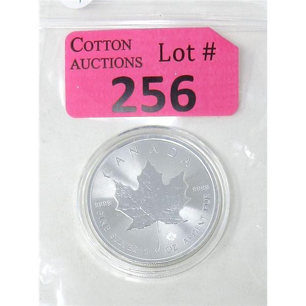 1 Oz. 2020 Canada .9999 Silver Maple Leaf Coin
