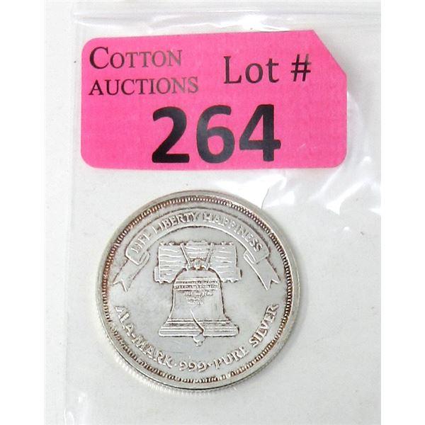 1Oz. Liberty Silver .999 Silver Round