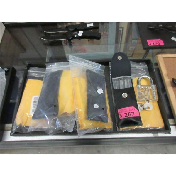 5 New Locksmith Tool Kits with Practice Lock